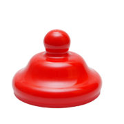 110mm Bobble Cap Brilliant Red