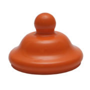 70mm Victorian Cap Orange