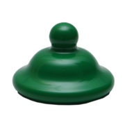 70mm Victorian Cap Green