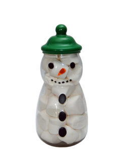 snowman with face 2
